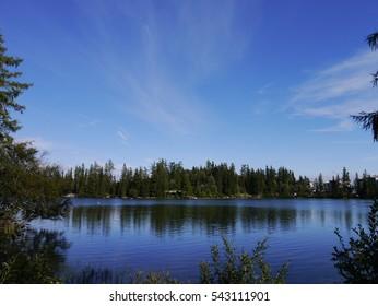 Scenic lakeside