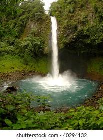Scenic landscape in Costa Rica