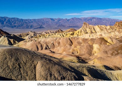 Scenic landscape of the Death Valley National Park