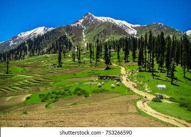scenic landscape of Lalazar, Kaghan Valley, Northern Areas of Pakistan, Pakistan