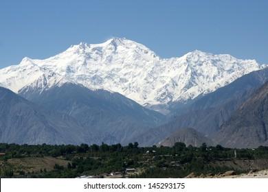 Scenic landscape - Nanga Parbat (8,126m)
