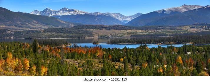 Scenic landscape near Silverthorne ,Colorado
