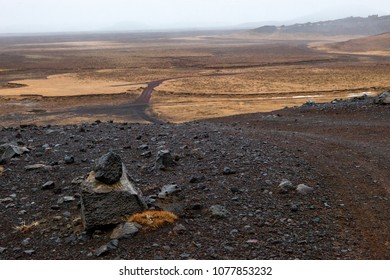 The scenic landscape of the Southern Pennisula in Iceland