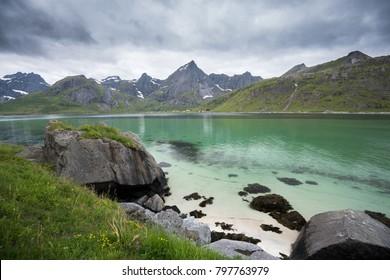 Scenic Lofoten in Norway