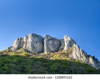scenic Mont Aiguille in Vercors, France