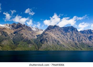 Scenic mountain terrain