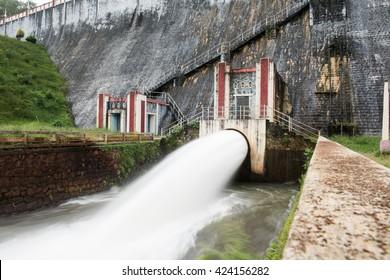 Scenic Neyyar Gravity Dam