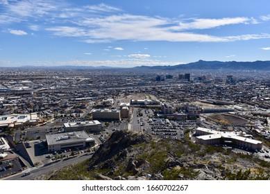 Scenic overlook in El Paso, Texas