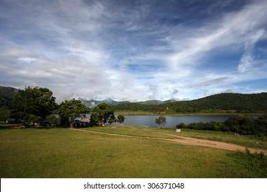 Scenic Rhi Lake in Chin State, Myanmar (Burma)