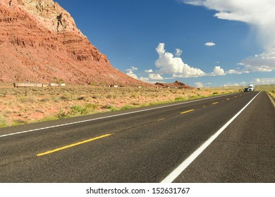 Scenic road to Grand Canyon