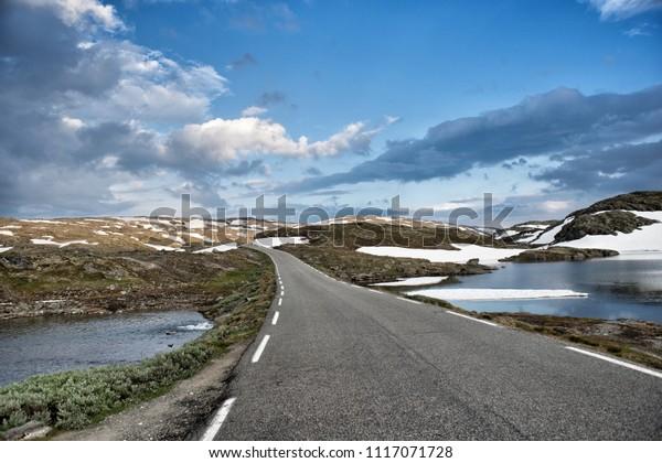 scenic road in Norway