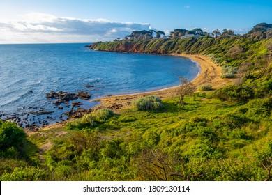 Scenic Secluded Ocean Bay auf der Mornington Halbinsel - schöne Landschaft