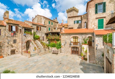 Scenic sight in Capalbio, picturesque village on the province of Grosseto. Tuscany, Italy.