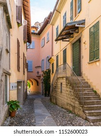 Scenic sight in Sala Comacina, village on Lake Como, Lombardy, Italy.