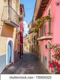 Scenic sight in Tagliacozzo, province of L'Aquila, Abruzzo, Italy.