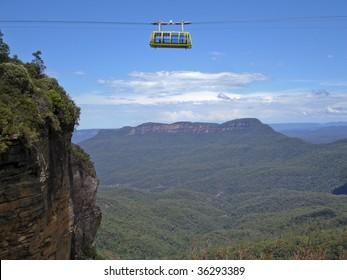 Scenic skyway in Blue Mountains, Sydney, Australia