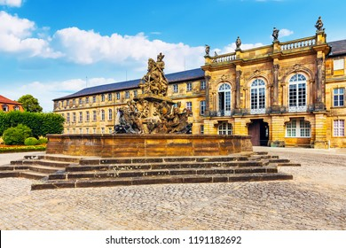 Scenic summer view of the Old Town architecture in Bayreuth, Bavaria, Germany
