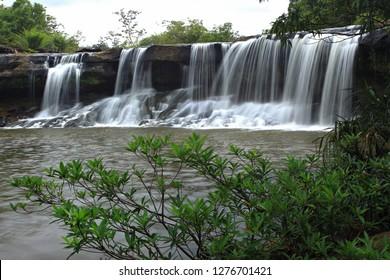 Scenic of Tat Ton Waterfall Kaeng Tana National Park Ubon Ratchathani