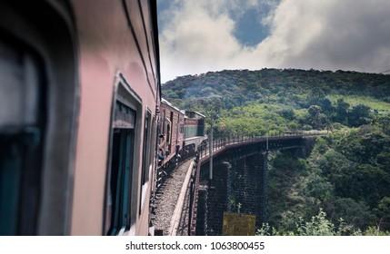 Scenic train ride from Colombo to Ella in Sri Lanka