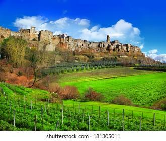 scenic Tuscany landscapes