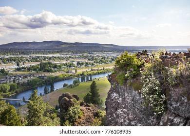 Scenic View Above Spokane Valley