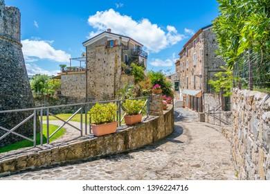 Scenic view in Agropoli. Province of Salerno, Cilento, Campania, southern Italy.