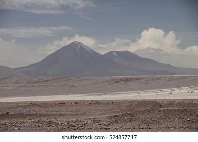 scenic view of Atacama desert, Chile