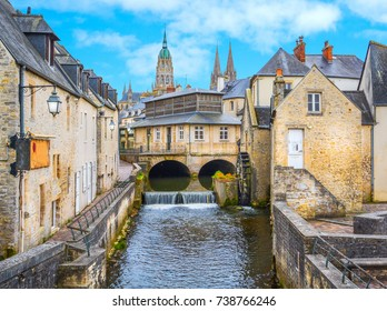 Scenic view in Bayeux, Normandy, France.