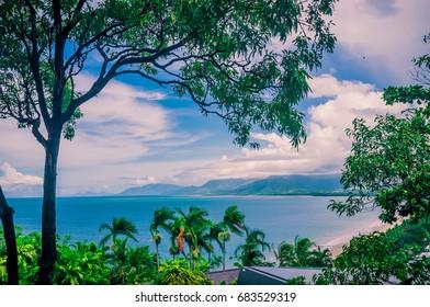 Scenic view of the beach at Port Douglas Queensland Australia
