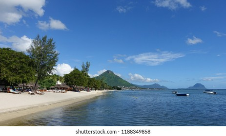 Scenic View of a Beautiful Tropical Beach