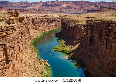 Scenic View of Canyon and Colorado River, Arizona