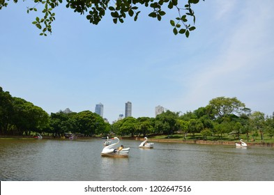 Scenic view in the city of Goiania, capital of Goias State, Brazil