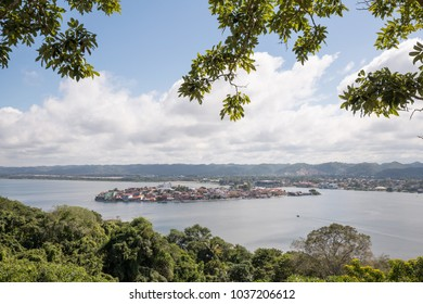 Scenic View of Flores, Guatemala