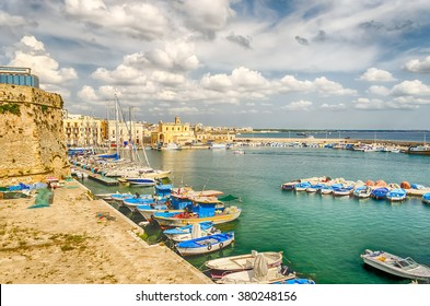 Scenic view of Gallipoli, Salento, Apulia, Italy