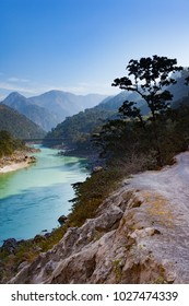 Scenic view at Ganges River in Rishikesh, Uttarakhand, India
