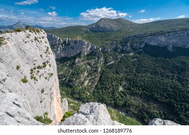 Scenic view of Grand Canyon du Verdon, Provence, France