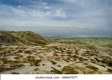 scenic view of Grassland National Park, Saskatchewan,Canada