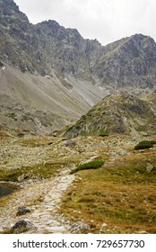 Scenic view of the High Tatras in Slovakia