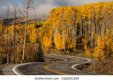 Scenic view to the highlands on the byway 12 in Utah, USA