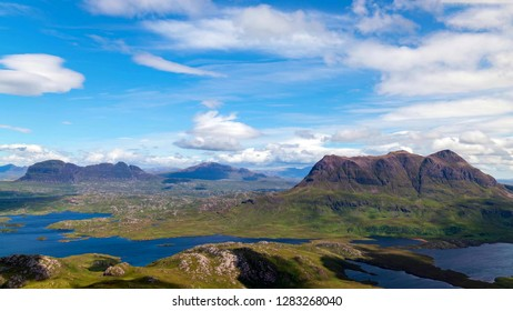 Scenic view of the lake and mountains at Scottish Highlands, Scotland, United Kingdom.