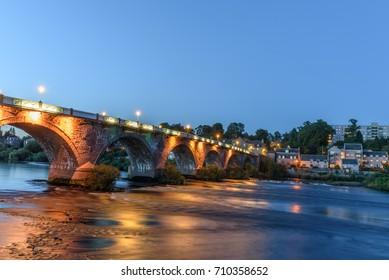 Scenic view of the landscape from a bridge of Perth in Scotland.