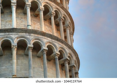 Scenic view of leaning tower of Pisa, Italy