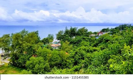 Scenic view near Noen Nangphaya Viewpoint east of Thailand