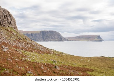 Scenic View of Neist Point, Isle of Skye in Scotland