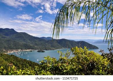 Scenic View on Ilha Grande, Brasil