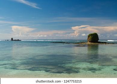scenic view on a Lagune of Jamaica