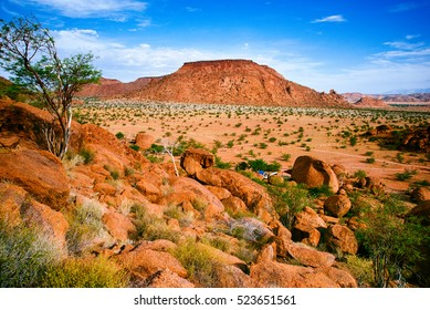 Scenic view on Mowani Campsite, Damaraland, Namibia