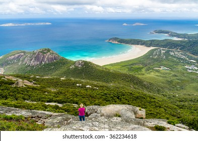 Scenic view on the Wilsons Promontory Natural Park
