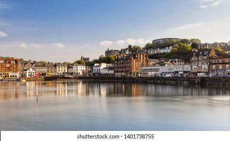 Scenic View over Oban in Scotland