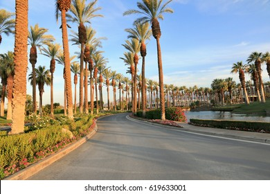Scenic view in Palm Springs, CA, USA